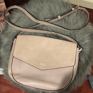 Kate Spade Cross Body- two tone- beige and Mauve
